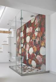 tapeten badezimmer tapeten wall deco auch wasserfest für in die dusche modern