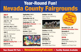 year round fun at the fairgrounds nevada county fairgrounds