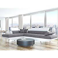 canapé convertible blanc et gris amazon fr canapés et divans de salon