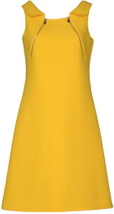 michael kors short dress in yellow lyst this color makes me