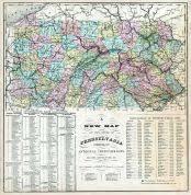 map of lancaster county pa lancaster county 1864 pennsylvania historical atlas