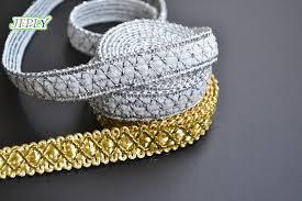 gold lace ribbon popular gold lace ribbon buy cheap gold lace ribbon lots from