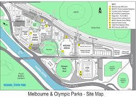Rod Laver Floor Plan Precinct Map Melbourne Park Function Centre
