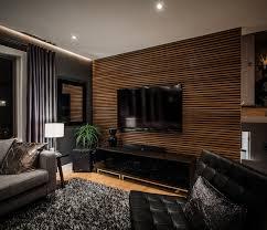 holz wohnzimmer wohnwand modern holz hängend mxpweb