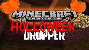 halloween style dropper minecraft pe mcpe 0 16 0 ib dropper