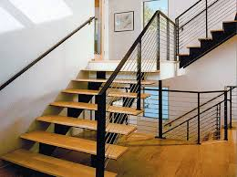 Cable Banister Custom Commercial Railing With Cable Rail Infill Feeney Photo