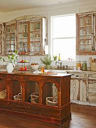 how to paint kitchen cabinets rustic 15 rustic painted kitchen cabinets images woodsinfo