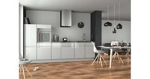 cuisine sans poignee les cuisines aménagées sans poignée pour un design aux lignes pures