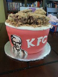 food that looks like other food a kfc bucket of chicken cake by