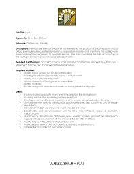 Paralegal Job Description Resume Cosy Hostess Job Duties Resume With Fast Food Job Description For