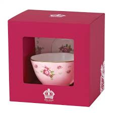 boxed roses royal albert new country roses pink vintage teacup and saucer