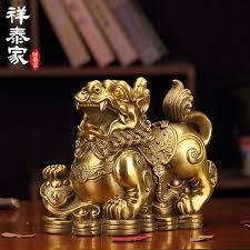 usd 24 47 xiang home decoration copper pixiu ornaments