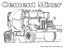 printable coloring pages big trucks mabelmakes