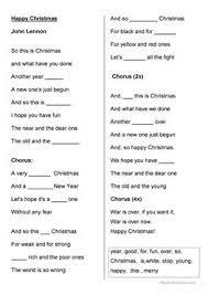 5 free esl happy christmas worksheets