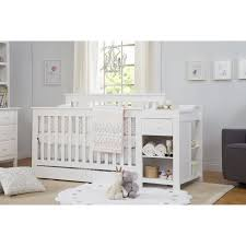 Crib And Changing Table Baby Cribs With Changing Table Crib Combo 12 Bed Attached Designs