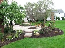 fire pit landscape backyard fire pit landscaping ideas outdoor