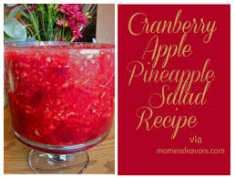 cranberry jello salad recipes thanksgiving cornucopia of creativity cranberry apple pineapple salad