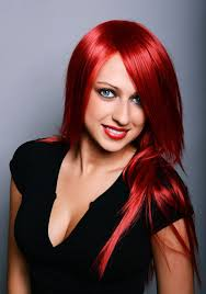 how to put red hair in on the dide with 27 pieceyoutube red hair with blonde highlights are an attention grabbing look