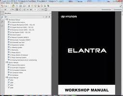 2006 hyundai elantra repair manual hyundai elantra 2000 06 xd workshop service repair manual