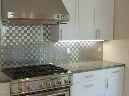 Kitchen Ideas With Stainless Steel Backsplash  SMITH Design - Stainless steel backsplash reviews