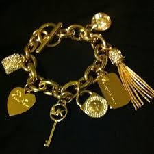 bracelet kors images Michael michael kors jewelry michael kors charm bracelet poshmark jpg