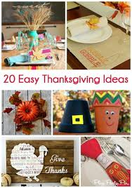 20 easy thanksgiving crafts