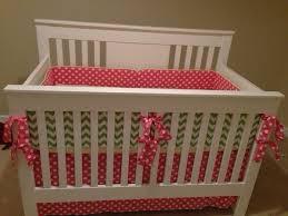 21 best pink n green crib bedding images on pinterest babies
