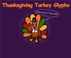 thanksgiving turkey glyph bootsforcheaper
