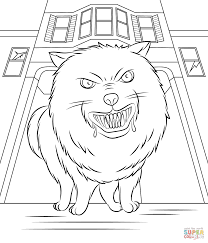 goosebumps horrorland coloring page free printable coloring pages