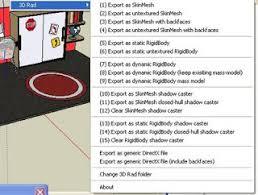 download google sketchup tutorial complete zip sketchup plugins and blog sketchup 3d rad exporter