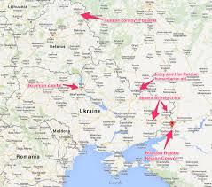 Ukraine On World Map by Russia Able To Invade Ukraine Business Insider