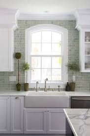 kitchen subway tiles backsplash pictures best 25 green subway tile ideas on kitchen backsplash