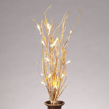 battery operated lighted branches gerson 37909 20 b o gold willow lighted branches timer 25lt led