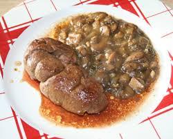 cuisiner les rognons de veau rognon de veau sauce madère aux chignons amafacon