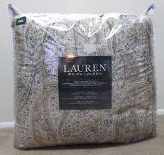 Ralph Lauren Comforter Set New Ralph Lauren King Size 4 Pc Comforter Set Beige Blue Paisley 2 Sham Bedskirt 8981cd7cf5c1dddbbe4cde3d001d4efe Jpg