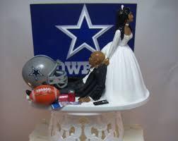cowboy cake toppers dallas cowboys cake etsy