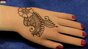 traditional easy arabian mehndi designs for beginners simple henna