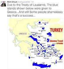 Map Of Greece And Turkey by Ankara Mayor Says Aegean Islands Should Not Belong To Greece
