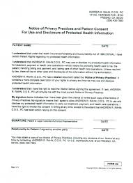 hipaa release evolve physicians privacy authorization form new