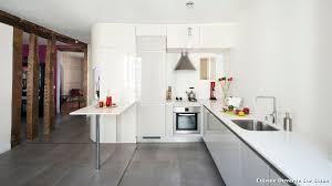 cuisine ouverte sur s駛our cuisine ouverte sur salon with contemporain cuisine décoration