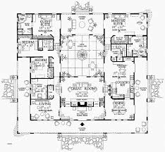 courtyard plans domus floor plan inspirational 6 house floor