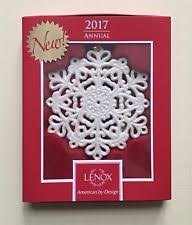 lenox snowflake ornament ebay