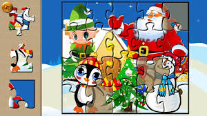 santa puzzle christmas games android apps on google play