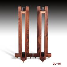 All Wood Bookshelves by Sound Element Cl 01 Black Walnut All Solid Wood Triangle Speaker