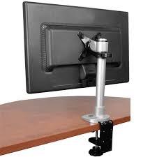 Hydraulic Desk Height Adjustable Monitor Arm Grommet Desk Mount Server