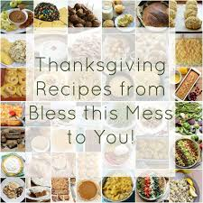 thanksgiving dishes from bless this mess bless this mess