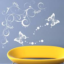wall stickers butterflies butterfly vine wall stickers by parkins interiors download
