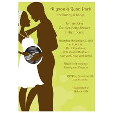 Couple Shower Invitations Amazon Com Happily Expecting Couple Sonogram Baby Shower