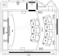 Game Room Floor Plans Small Home Theater Home Theater System Room Layout Home