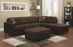 chocolate sectional sofa mustang chocolate reversible sectional sectionals seat n